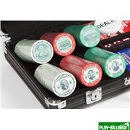 Набор для покера US Dollar на 300 фишек, интернет-магазин товаров для бильярда Play-billiard.ru. Фото 3