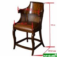 "Weekend Кресло для ломберного стола ""Maxene"", интернет-магазин товаров для бильярда Play-billiard.ru. Фото 4"