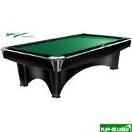 Weekend Бильярдный стол для пула «Dynamic III» 9 ф (черный), интернет-магазин товаров для бильярда Play-billiard.ru. Фото 1