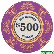 Набор для покера Luxury Ceramic на 500 фишек, интернет-магазин товаров для бильярда Play-billiard.ru. Фото 5