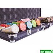 Набор для покера Compas на 500 фишек, интернет-магазин товаров для бильярда Play-billiard.ru. Фото 4