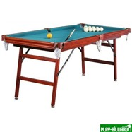 Weekend Бильярдный стол для русского бильярда  «Hobby» 6 ф (в комплекте), интернет-магазин товаров для бильярда Play-billiard.ru