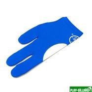 """Перчатка бильярдная """"Sir Joseph"""" (синяя) L, интернет-магазин товаров для бильярда Play-billiard.ru"""