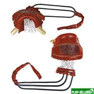 Weekend Комплект луз c выкатом, кожаное плетение, лен (68 мм), интернет-магазин товаров для бильярда Play-billiard.ru. Фото 1
