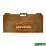 Кейс для покера деревянный резной Las Vegas на 500 фишек, интернет-магазин товаров для бильярда Play-billiard.ru