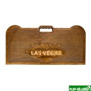 Кейс для покера деревянный резной Las Vegas на 500 фишек, интернет-магазин товаров для бильярда Play-billiard.ru. Фото 1