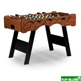 Настольный футбол (кикер) «Stuttgart» (122x61x81см, коричневый), интернет-магазин товаров для бильярда Play-billiard.ru