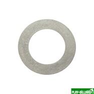 Кольцо алюминиевое для шафта упаковка 10 шт. (0.4мм, н/д 25мм, в/д 16мм), интернет-магазин товаров для бильярда Play-billiard.ru. Фото 2