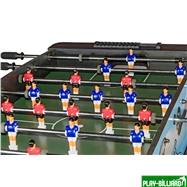 Weekend Настольный футбол (кикер) «Dybior Turin» (120x61x84, синий), интернет-магазин товаров для бильярда Play-billiard.ru. Фото 5
