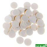 Фибра упаковка 50 шт. (белая, 1.6мм, н/д 16мм), интернет-магазин товаров для бильярда Play-billiard.ru