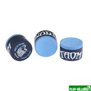 Taom Billiards Мел «Taom Pyro Chalk» синий, интернет-магазин товаров для бильярда Play-billiard.ru. Фото 1