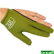 Longoni Перчатка бильярдная «RenzLine Bicolor» (зеленая), интернет-магазин товаров для бильярда Play-billiard.ru. Фото 1