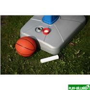 Weekend Баскетбольный щит на регулируемой опоре «Deluxe Basketball» (с мячом для мини-баскетбола), интернет-магазин товаров для бильярда Play-billiard.ru. Фото 6