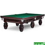 Weekend Бильярдный стол для русского бильярда «Turnus II» 11 ф (махагон), интернет-магазин товаров для бильярда Play-billiard.ru