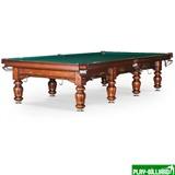 Weekend Бильярдный стол для русского бильярда «Classic II» 12 ф (орех), интернет-магазин товаров для бильярда Play-billiard.ru