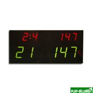 Электронное табло «Play 8» с дистанционным управлением, интернет-магазин товаров для бильярда Play-billiard.ru. Фото 2