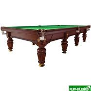 Weekend Бильярдный стол для русского бильярда «Dynamic Noble» 12 ф (махагон), интернет-магазин товаров для бильярда Play-billiard.ru
