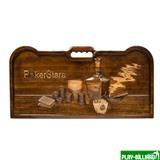 Кейс для покера деревянный резной Poker Stars на 500 фишек, интернет-магазин товаров для бильярда Play-billiard.ru