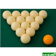 """Комплект шаров 68 мм """"Crown X Edition"""" (без номеров), интернет-магазин товаров для бильярда Play-billiard.ru. Фото 2"""