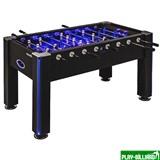 Atomic Настольный футбол (кикер) «Azure» (148x78x87 см, черный), интернет-магазин товаров для бильярда Play-billiard.ru