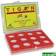 TIGER Наклейка для кия «Tiger Pro Jump Tip» 15 мм, интернет-магазин товаров для бильярда Play-billiard.ru