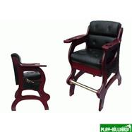 Кресло бильярдное (махагон), интернет-магазин товаров для бильярда Play-billiard.ru