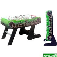 Настольный футбол (кикер) «Barcelona» (138x72x86, цветной) складной), интернет-магазин товаров для бильярда Play-billiard.ru