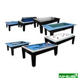 DBO Игровой стол - многофункциональный «Dybior Tornado» (черный), интернет-магазин товаров для бильярда Play-billiard.ru