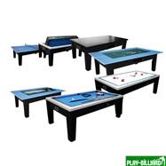 Игровой стол - многофункциональный «Dybior Mistral» (черный), интернет-магазин товаров для бильярда Play-billiard.ru. Фото 1
