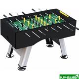 Weekend Настольный футбол (кикер) «Porturin» (140x74x89 см, серебристо-черный), интернет-магазин товаров для бильярда Play-billiard.ru