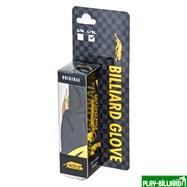 Predator Перчатка бильярдная «Predator Limited Edition» (черно-желтая) S&M, интернет-магазин товаров для бильярда Play-billiard.ru. Фото 5