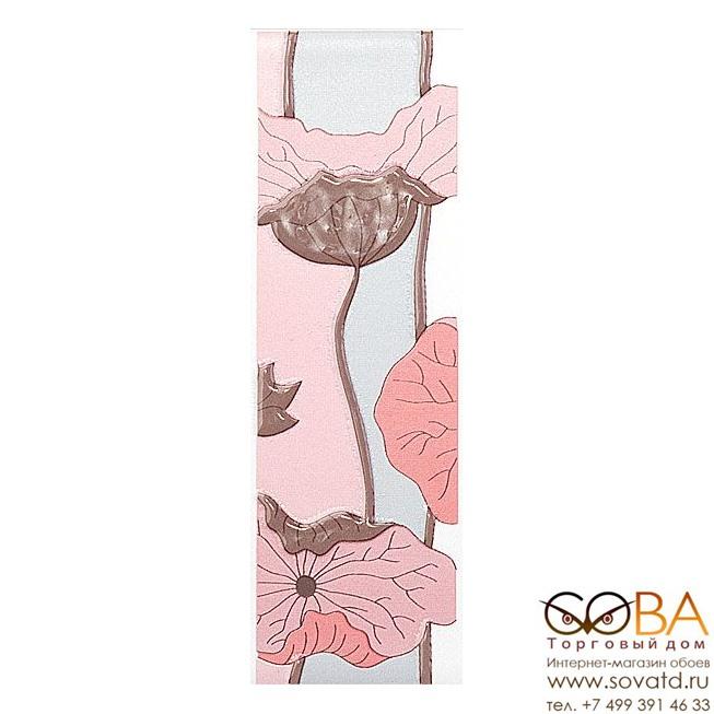 Бордюр Kerama Marazzi  Городские цветы 6,3х20 купить по лучшей цене в интернет магазине стильных обоев Сова ТД. Доставка по Москве, МО и всей России