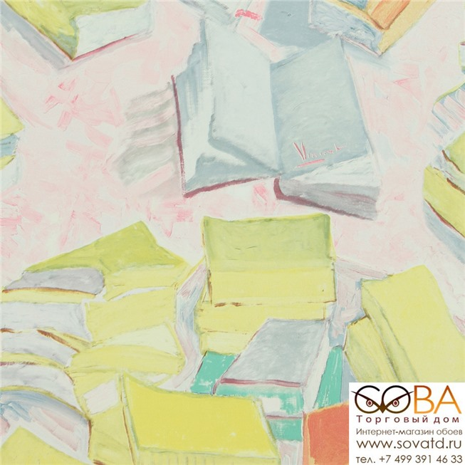 Обои BN 17190 Van Gogh купить по лучшей цене в интернет магазине стильных обоев Сова ТД. Доставка по Москве, МО и всей России