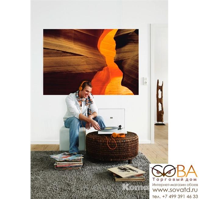 Фотообои Komar Side Canyon  NG артикул 1-603 размер 184 x 127 cm площадь, м2 2,3368 на бумажной основе купить по лучшей цене в интернет магазине стильных обоев Сова ТД. Доставка по Москве, МО и всей России