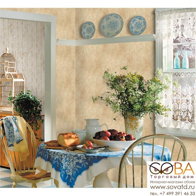 Обои Seabrook FR60605 Affresco купить по лучшей цене в интернет магазине стильных обоев Сова ТД. Доставка по Москве, МО и всей России
