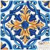 Декор Капри  настенный майолика STG\A458\5232 20х20, интернет-магазин Sportcoast.ru