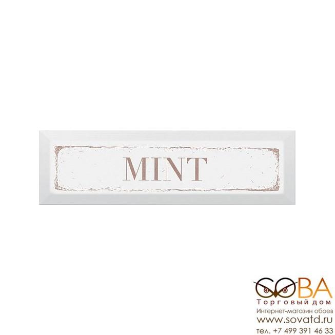 Декор Kerama Marazzi  Mint карамель 8,5х28,5 купить по лучшей цене в интернет магазине стильных обоев Сова ТД. Доставка по Москве, МО и всей России