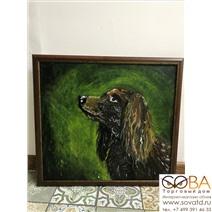 Портрет Собаки купить по лучшей цене в интернет магазине стильных обоев Сова ТД. Доставка по Москве, МО и всей России