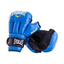 Перчатки для рукопашного боя HSIF RF3212, 12oz, к/з, синий
