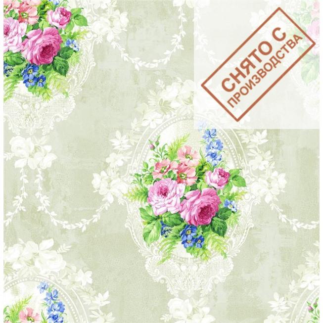 Обои Seabrook RG60707 Garden Rose купить по лучшей цене в интернет магазине стильных обоев Сова ТД. Доставка по Москве, МО и всей России