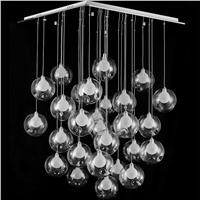 """Подвесной стеклянный светильник """"Мыльные пузыри"""""""