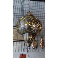 """Подвесной металлический светильник """"Марокканский фонарь"""""""