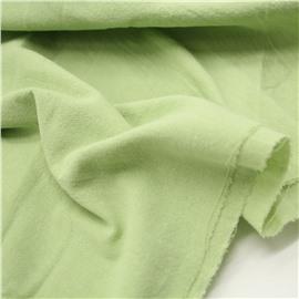 Нежно зеленый хлопок с эффектом крэш (елочка)