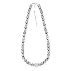 Ожерелье из серого жемчуга JEW NECK PEARLS GRAY