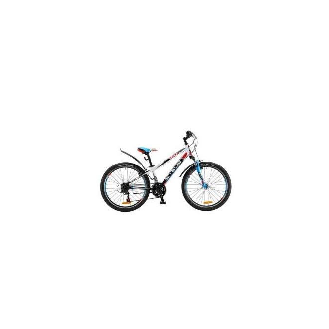 """Велосипед Stels Navigator 24"""" 450 V V020 Белый/Черный  , интернет-магазин Sportcoast.ru"""