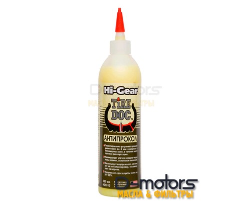 Антипрокол HI-GEAR tire doc ( 360 мл)