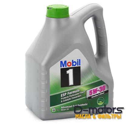 Моторное масло Mobil 1 ESP Formula 5W-30 (4л.)