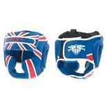 Шлем для бокса, Pak Rus PR-13-004 синий (M)