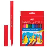 Фломастеры смываемые Faber Castell 24 цвета 554224