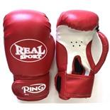 Перчатки для кикбоксинга Realsport 10 унций RS110